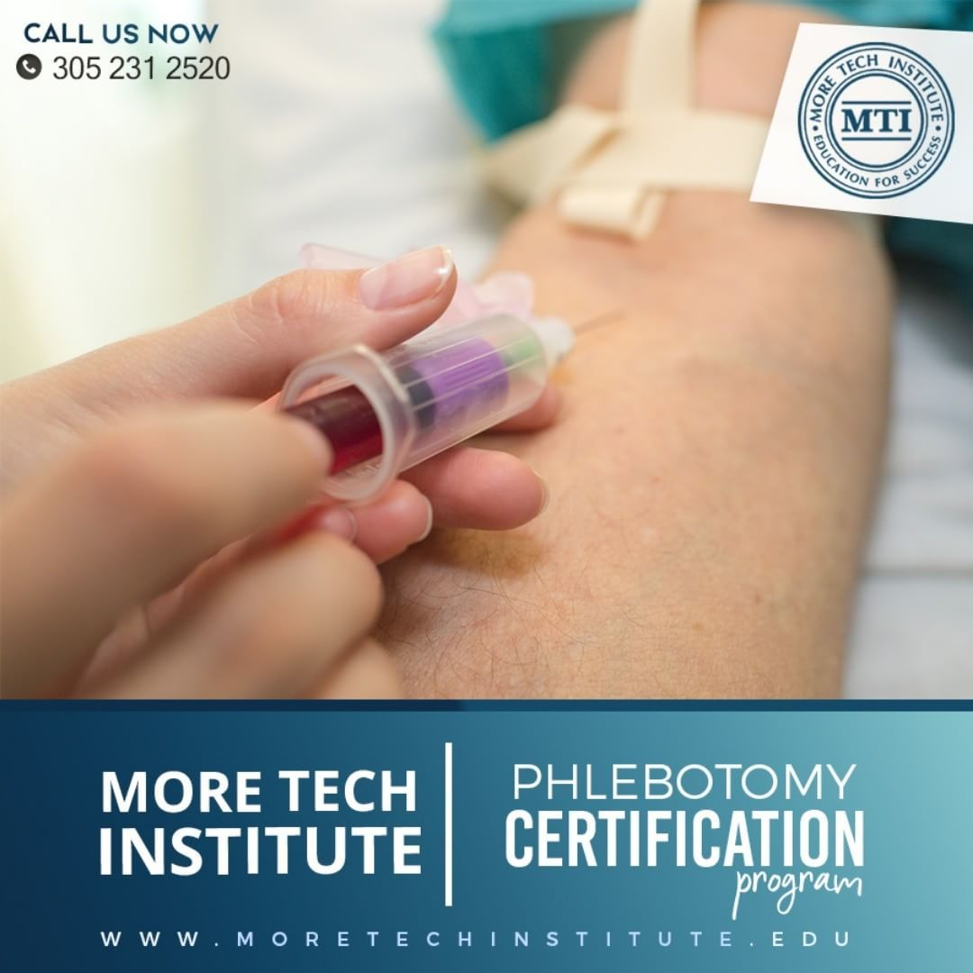 Get Phlebotomy Certification With Our Program Classes Starting On