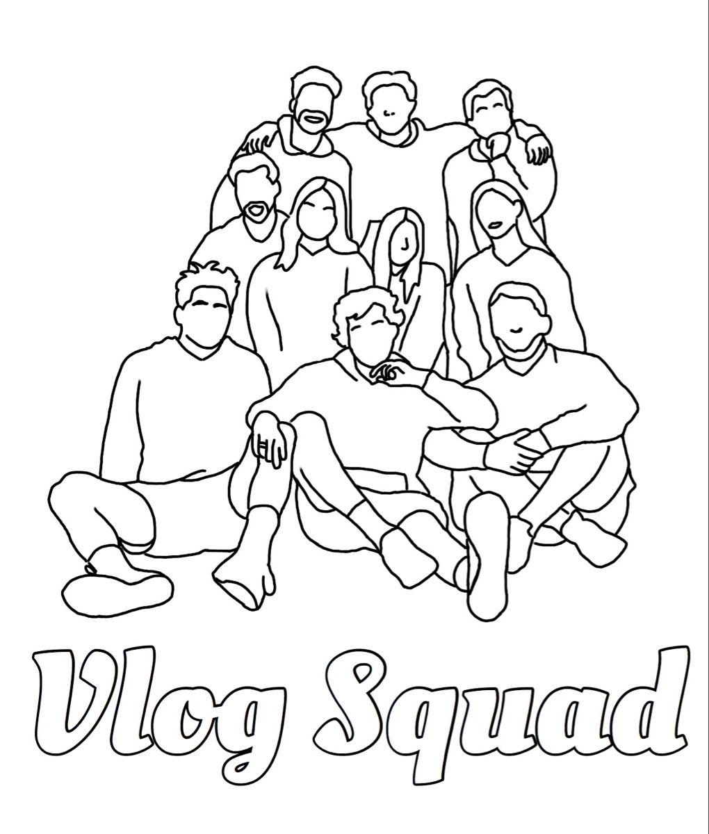 Jj Jenniferjoann Tiktok Vlog Squad Coloring Pages Cute Coloring Pages