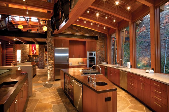 Luxury Homes Recently Sold At Auction Dream House House Lake House Kitchen