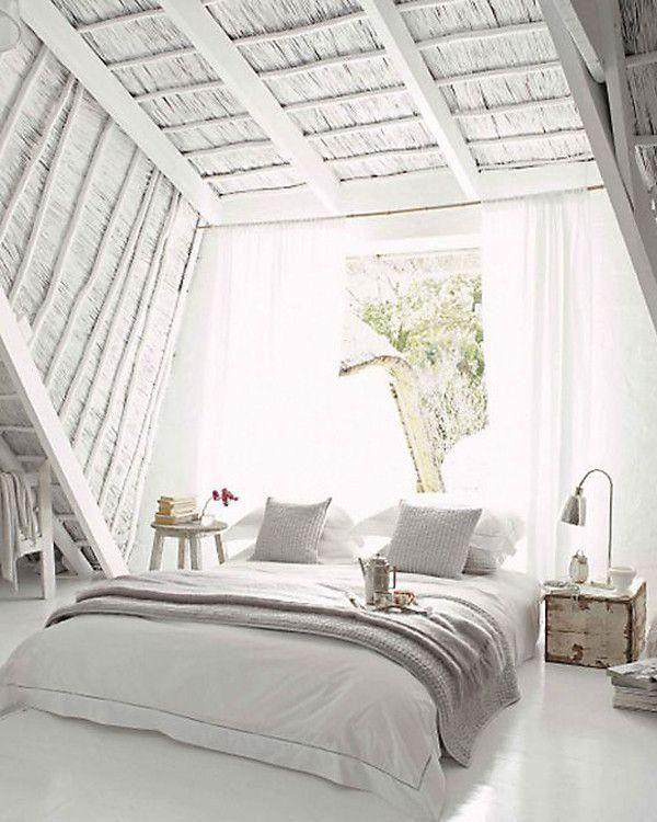 Popular On Pinterest All White Everything White Rooms All White Bedroom Home