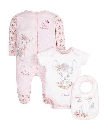 b91b317ed Disney Bambi Set - 3 Piece