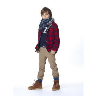 timberland chemise enfant