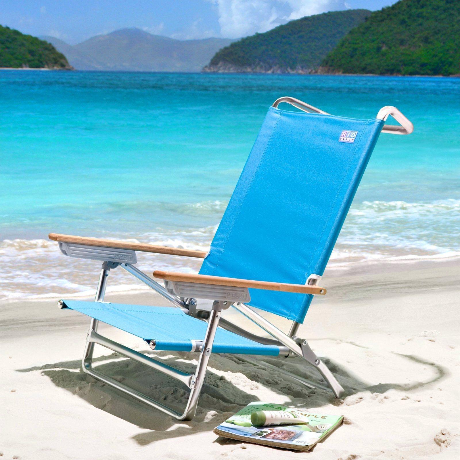 Lounge Chair Beach Towel With Ed Pocket