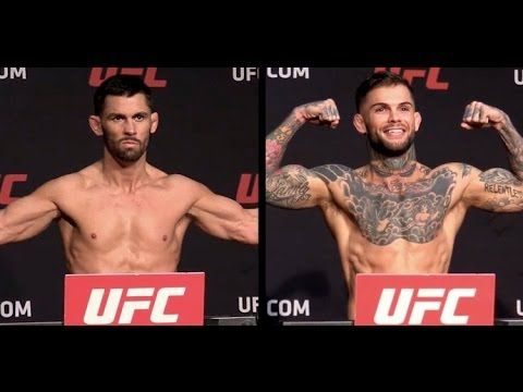 Mma Dominic Cruz Vs Cody Garbrandt Ufc 207 Official Weigh In Ufc Best Ufc Fighter Cody Garbrandt