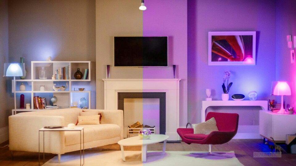 Slaapkamer Lamp Philips : Philips hue of living color lamp beide in bezit slaapkamer