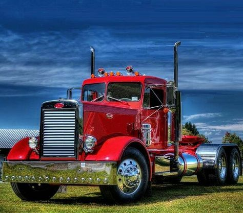 1965 Peterbilt classic 351 | Peterbilt tractor | Trucks