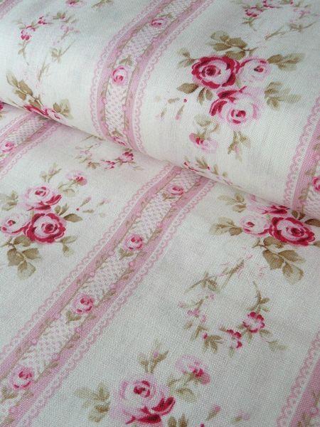 I love vintage linens aren 39 t these rose ones beautiful for Linge de maison shabby chic