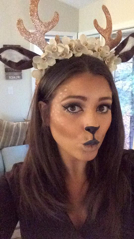 Deer faces full step by step by lily martinez cosplay and deer faces full step by step by lily martinez cosplay and costumes pinterest face costumes and halloween costumes solutioingenieria Gallery