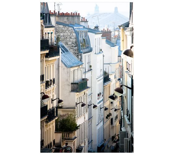 Romantic Places In The World To Visit: Romantic Rooftops Of Montemarte Framed Print By Rebecca