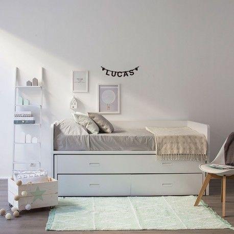 Elmo cama nido colchones camas y el color for Cama divan nina