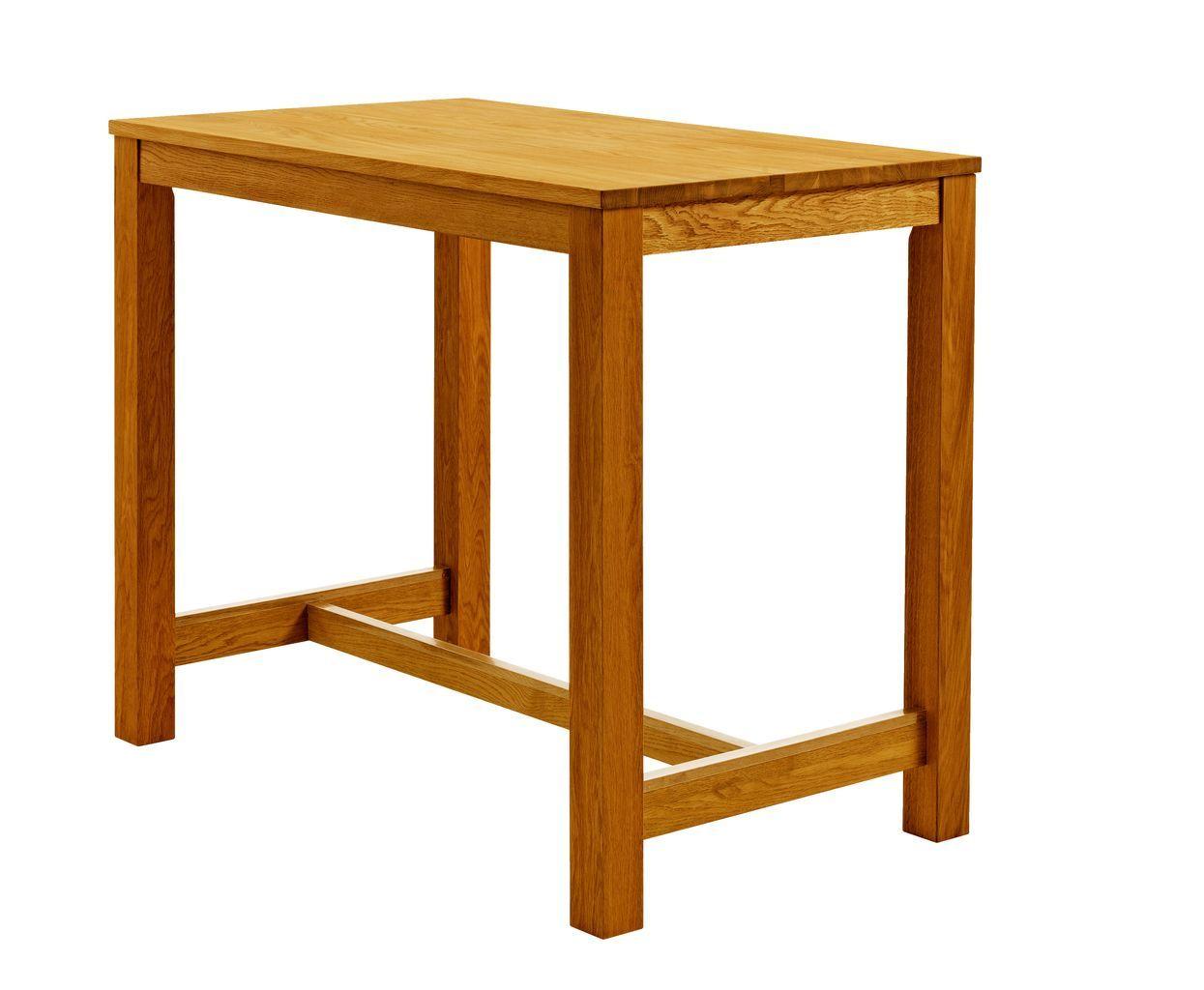 Bárasztal 70x120 tölgy JYSK Asztal