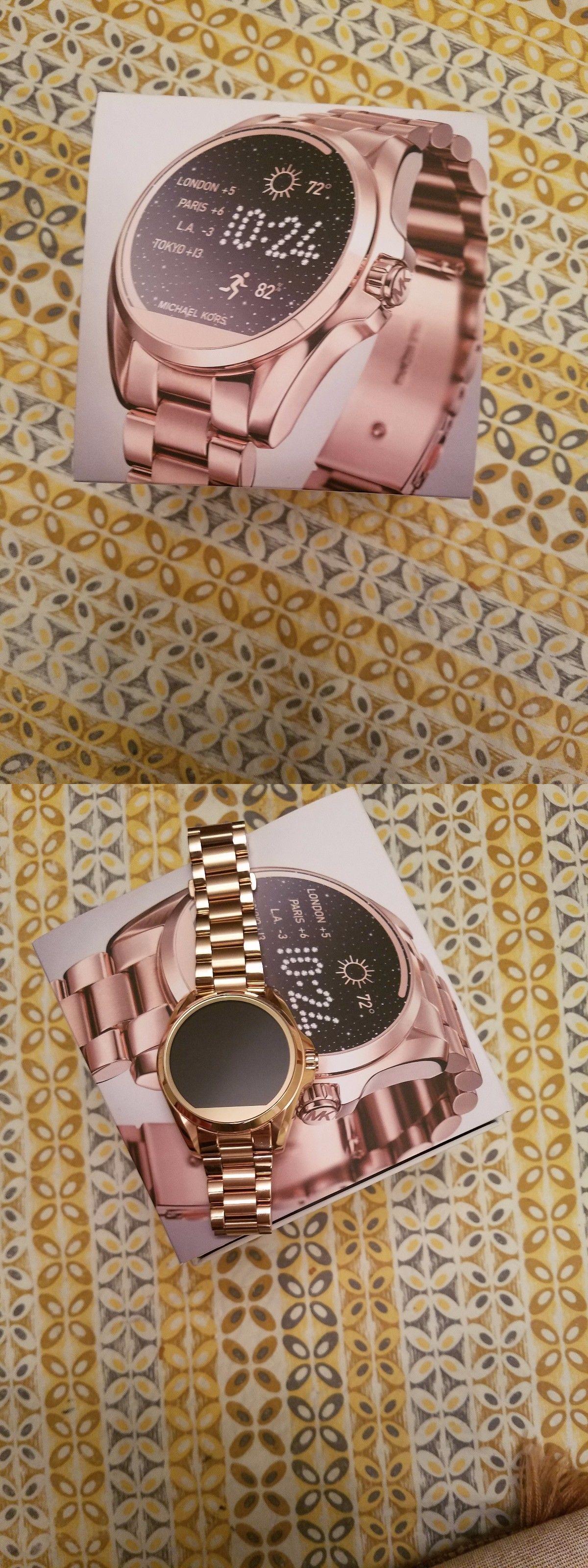 1975eee1bb43 Other Watches 166739  New Mk Smartwatch Women Watch Access Touch Screen  Gold Bradshaw Mkt5001 Open