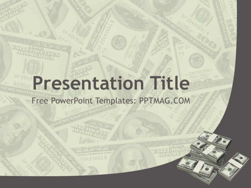 image result for powerpoint templates free with money background