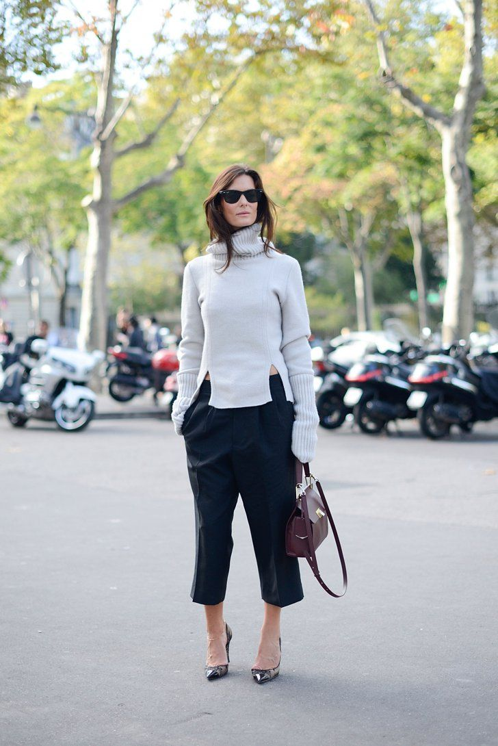 Pin for Later: The Best of Paris Fashion Week Street Style (Updated!) PFW Street Style Day 3 Hedvig Opshaug goes for the cutouts.