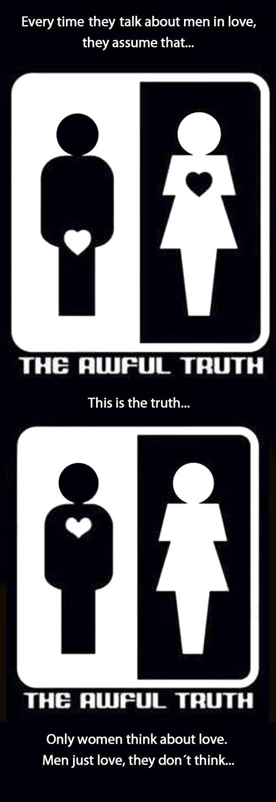 The truth about love…Forget all the rest of the crazy shit! No I don't ever wonder, I feel love, I know, period!