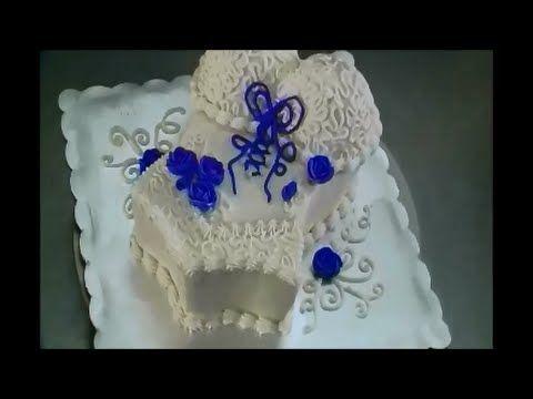 Decoración de pastel Corset de encaje.- LuzMa CyR. - YouTube