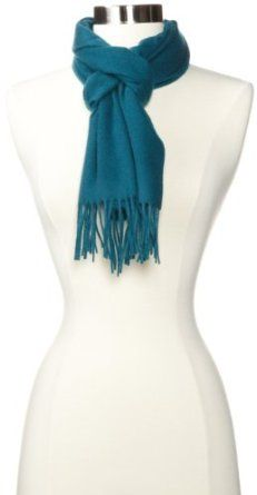 Phenix Cashmere Women's 100% Cashmere Solid Scarf only $68.75