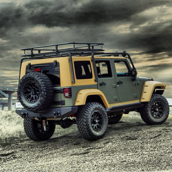Starwood Custom Kevlar Jeep Adventure Edition Jeep Lifted
