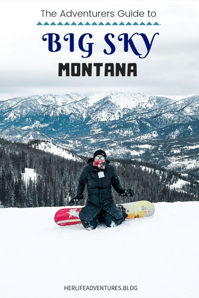 Photo of Big Sky Montana Winter Adventure Guide • Her Life Adventures