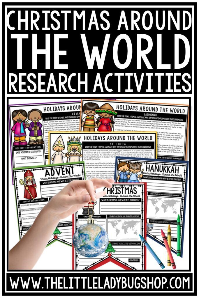 Photo of Christmas Around the World Activities for the Classroom