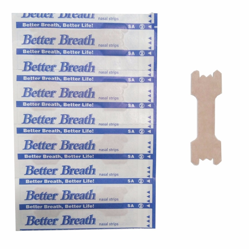 6.86$  Watch now - http://aliyot.shopchina.info/go.php?t=32749727584 - 100Pcs/lot Nasal Strips Anti Snoring Patches Sleep Better Right Aid to Stop Snore Better Breathe Improve Sleeping Health Product 6.86$ #buyonlinewebsite