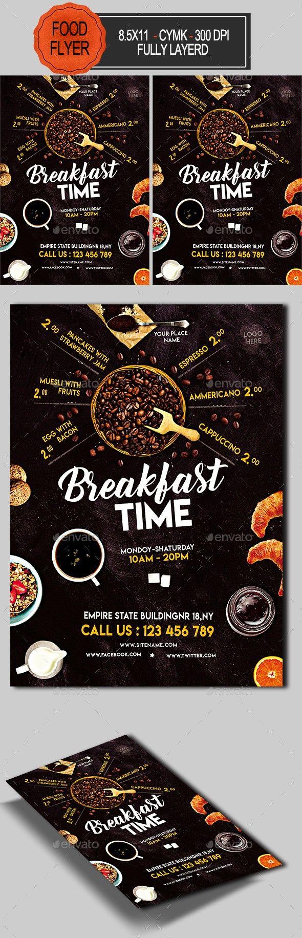 Creative Breakfast Flyer Design