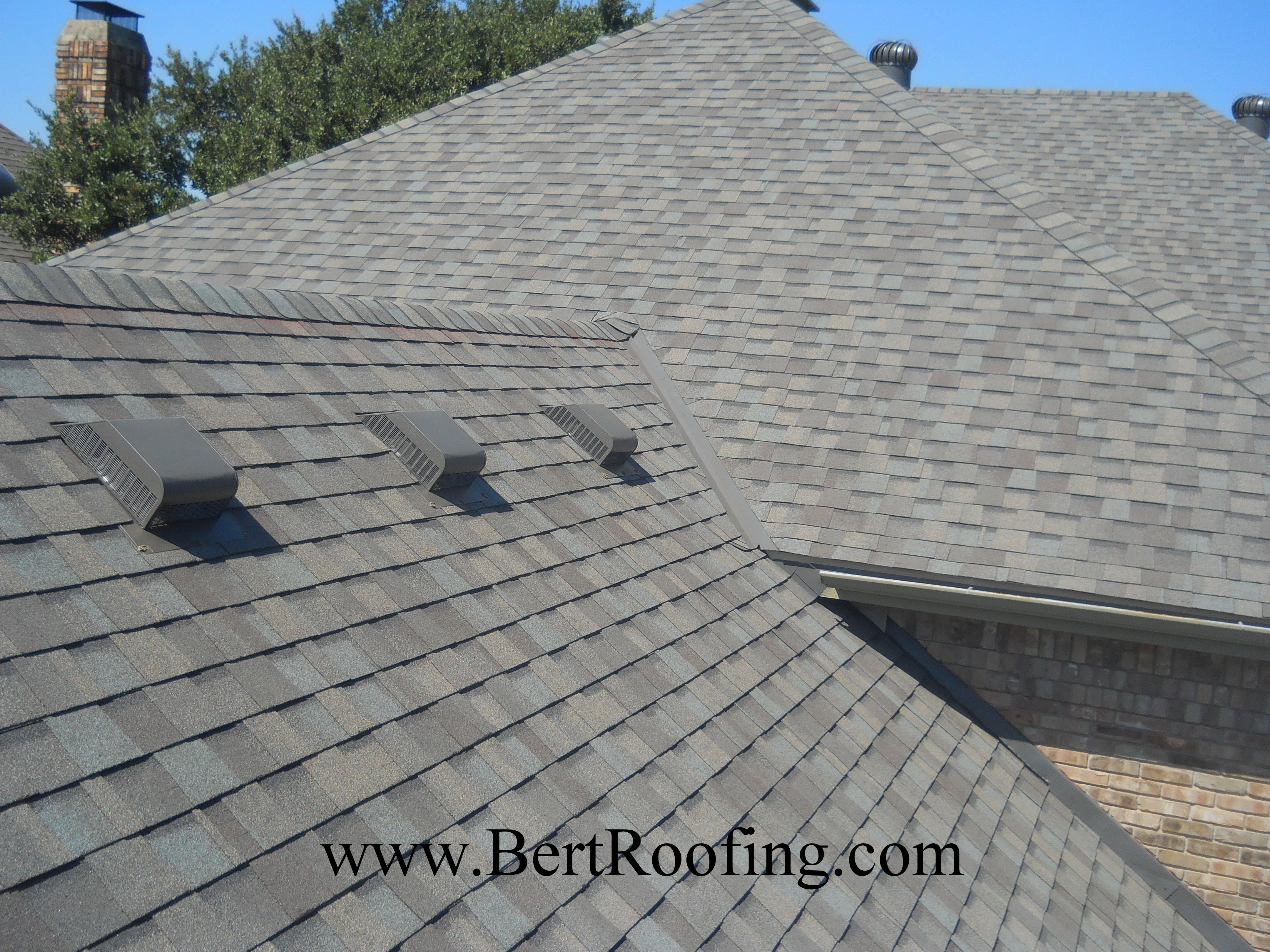 Bert Roofing Dallas Roofing Plano Roofing Contractor Roofing Shingle Colors Weathered Wood