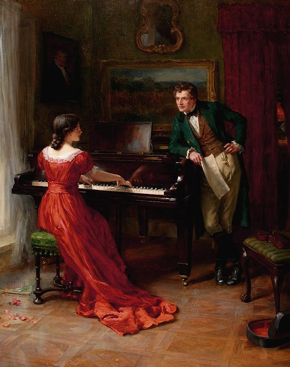 The Duet by George Sheridan Knowles