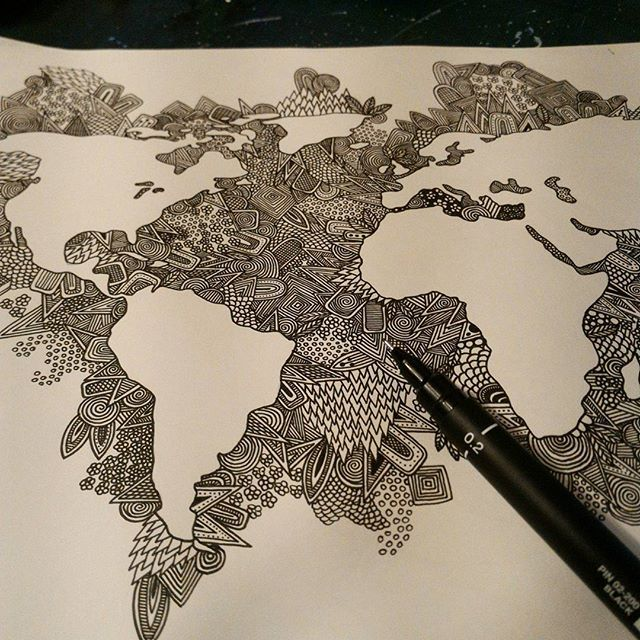 Almost done pattern amazing beautiful love zendoodle zentangle almost done pattern amazing beautiful love zendoodle zentangle fineliner gumiabroncs Images