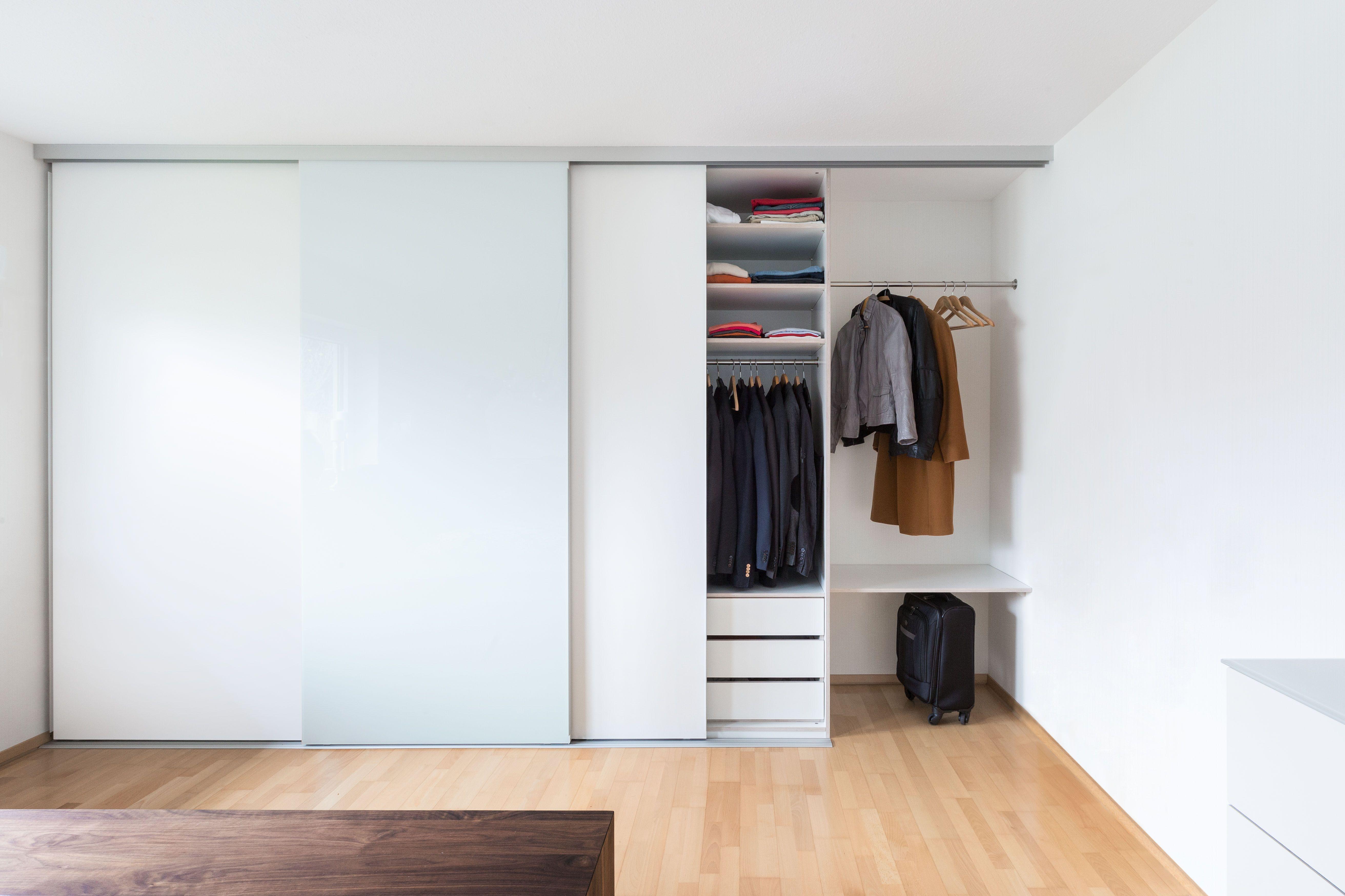 Einbauschrank Kleiderschrank Schlafzimmerschrank Deckenhoch