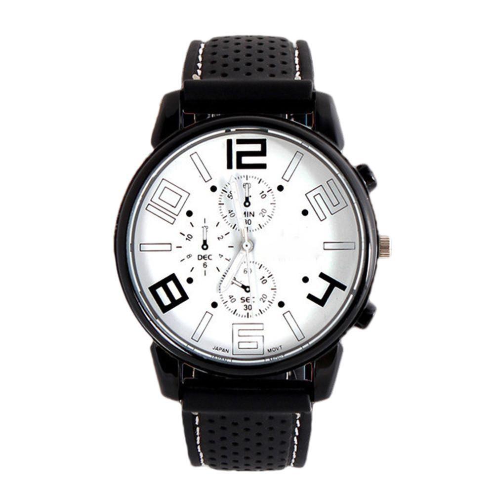 Men Fashion Stainless Steel Sportol Quartz Hours Wrist