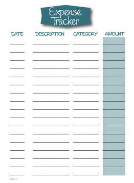 Daily Expense Tracker | Fianance | Pinterest