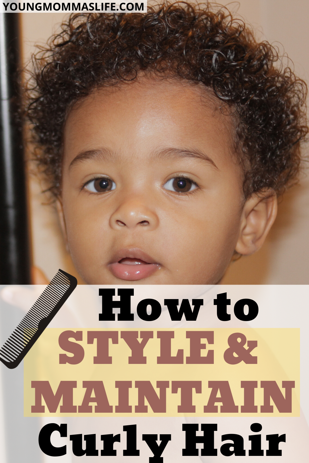 How to Care for Curly Baby Hair in 2020 Curly hair baby