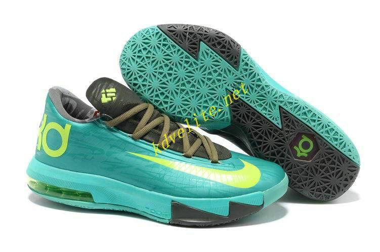save off e7cc4 16ffd Tropical Twist Nike KD 6 Volt Tarp Green 599424 200