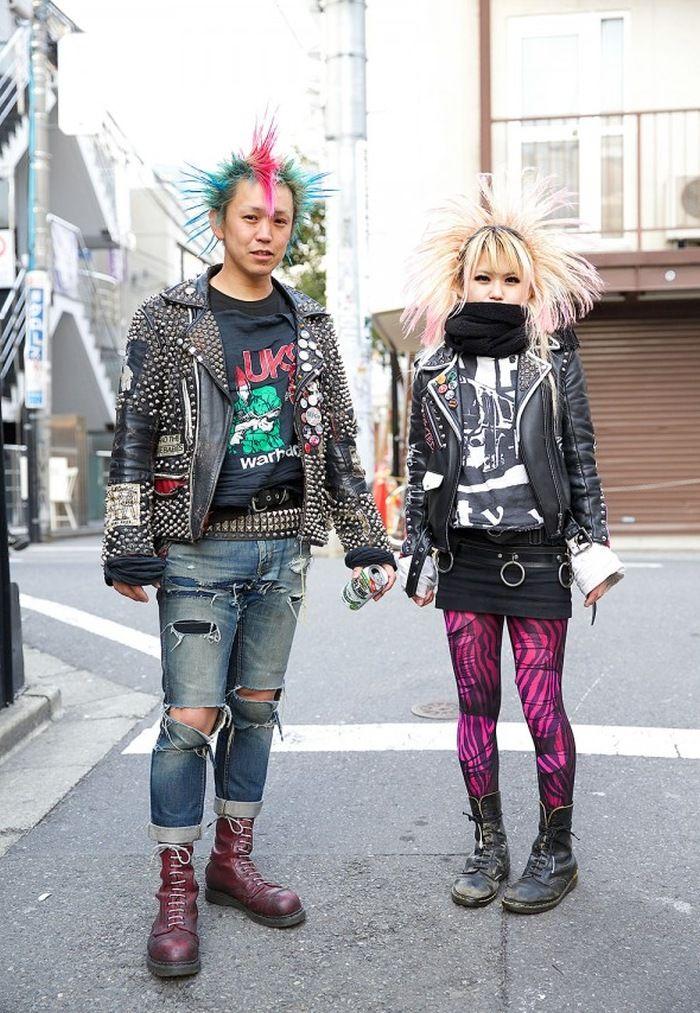Street Looks - Harajuku Punks