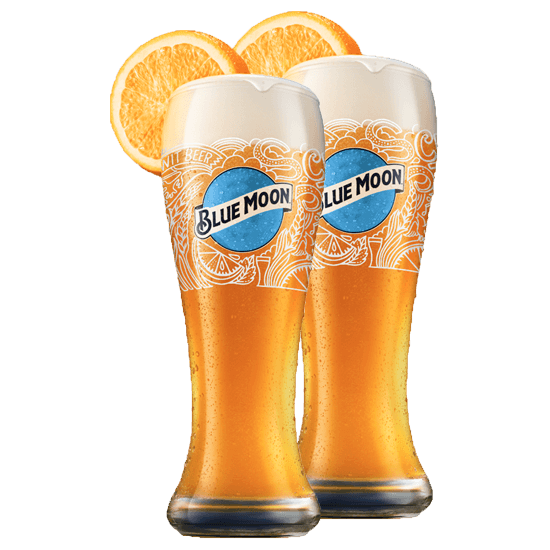 These Blue Moon Limited Edition Glasses Complement Any Home Bar Blue Moon Blue Glasses