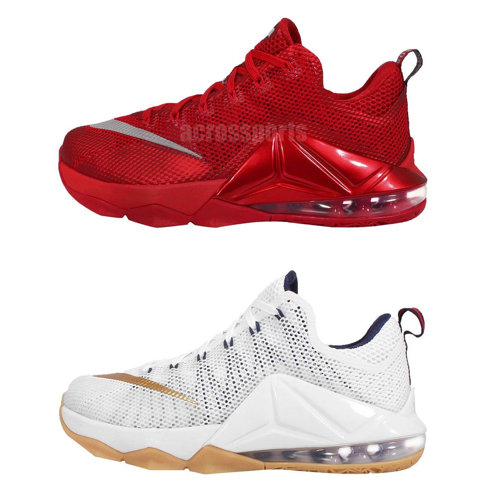 sale retailer 3f516 daf85 Nike Lebron XII Low EP 12 Lebron James Air Max Mens Basketball Shoes Pick 1  http