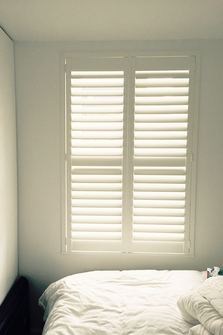 Explore our gallery Interior window shutters, Window