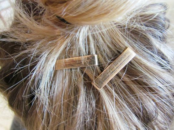 Antique Gold Filled Hair Barrettes by LUXXORVintage on Etsy, $36.00