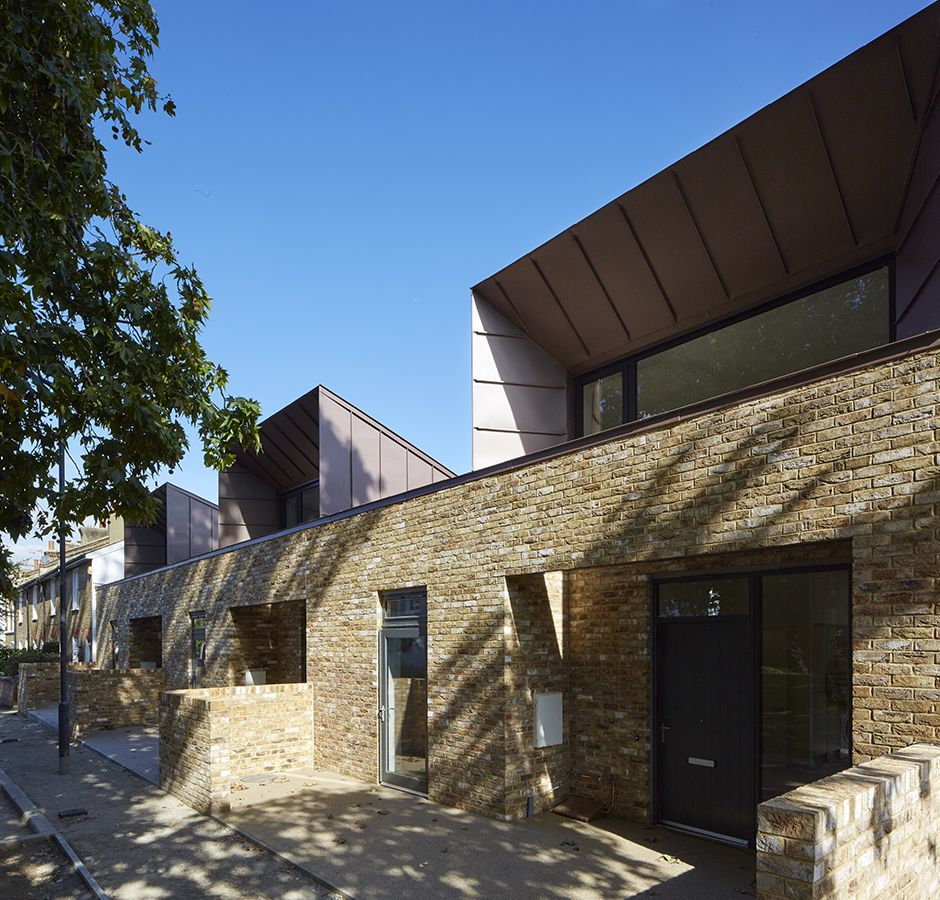 Gable Roof Can Fit So That The Roof Ends Just Beyond The: Winning Streak: The Shortlist For The RIBA London Regional