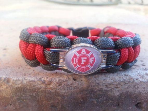 Firefighter survival bracelet