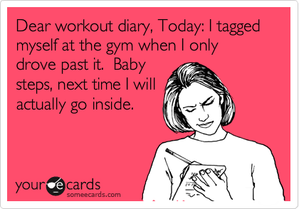 work out diaries