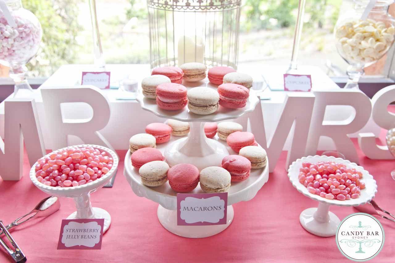 Pics For > Pink Wedding Candy Bars   Wedding/Candy~Dessert Bar ...