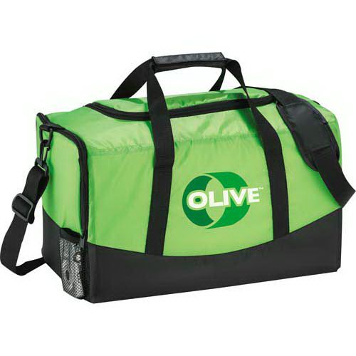 Zippered side pocket and mesh pocket. Double carrying handles with velcro  wrap and removable 9b6dc8720259a