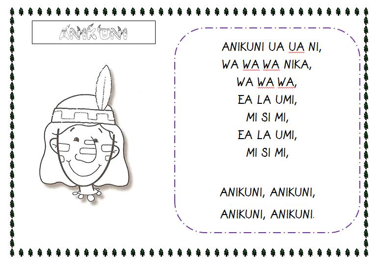 Plastificando ilusiones: Canción Anikuni