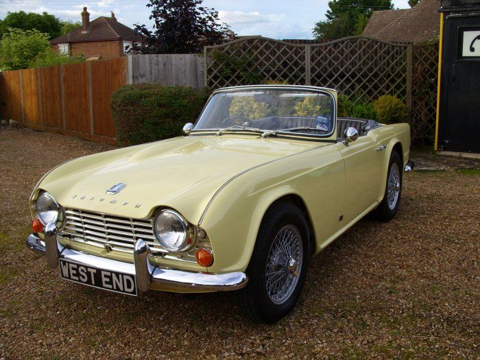 Triumph Tr4 1964 For Sale With Wire Wheels And Overdrive Vintage