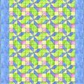 Free Baby Quilt Patterns for Beginning and Experienced Quilters: Pretty in Pastels Baby Quilt