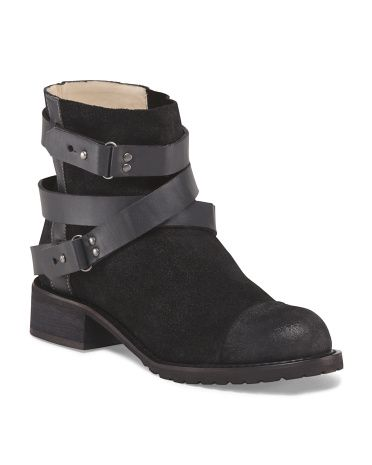 Leather Sami Booties