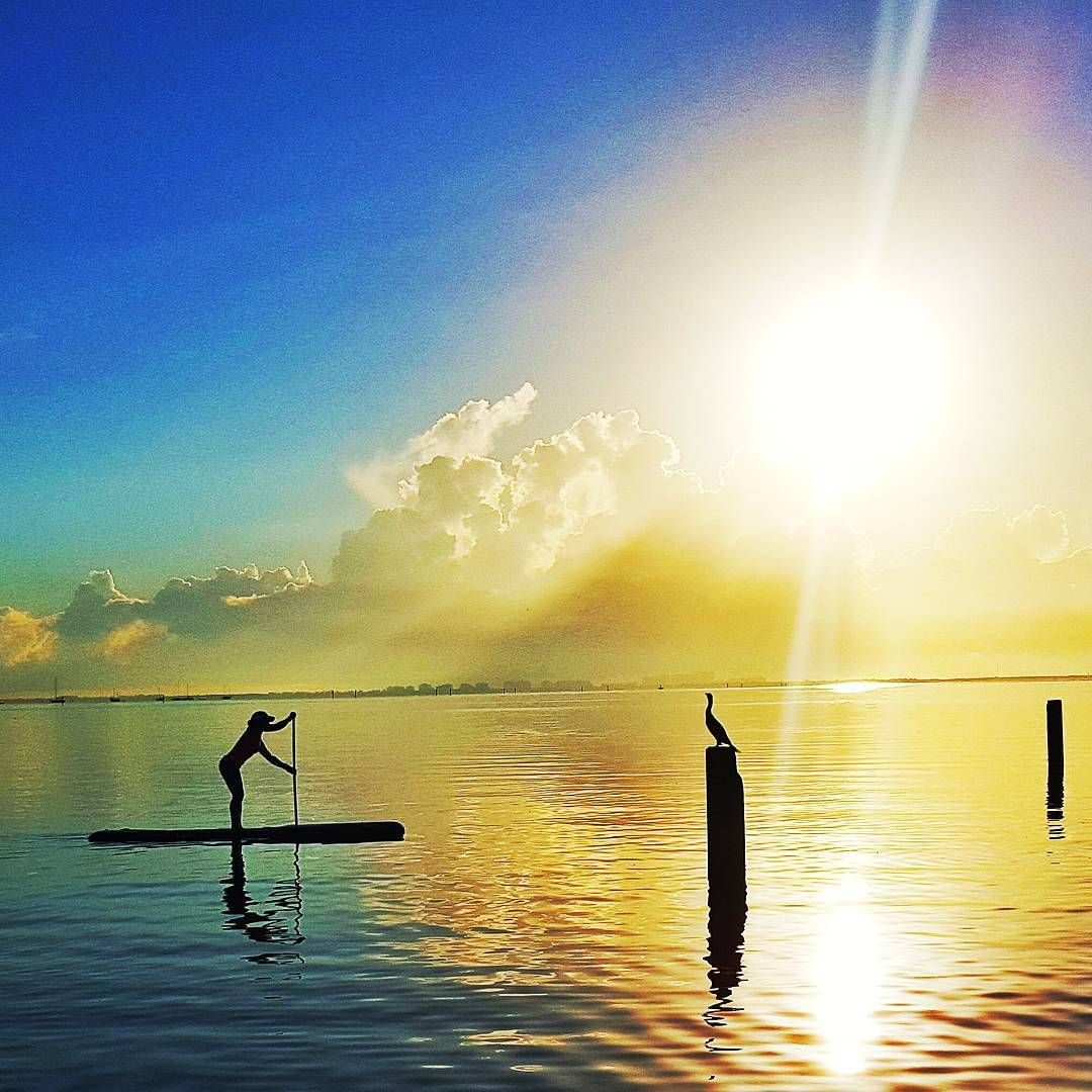 Lizi Ruiz Gorgeous Florida Spring Sunrise Sup Photo Florida Springs Miami Life Sunrise