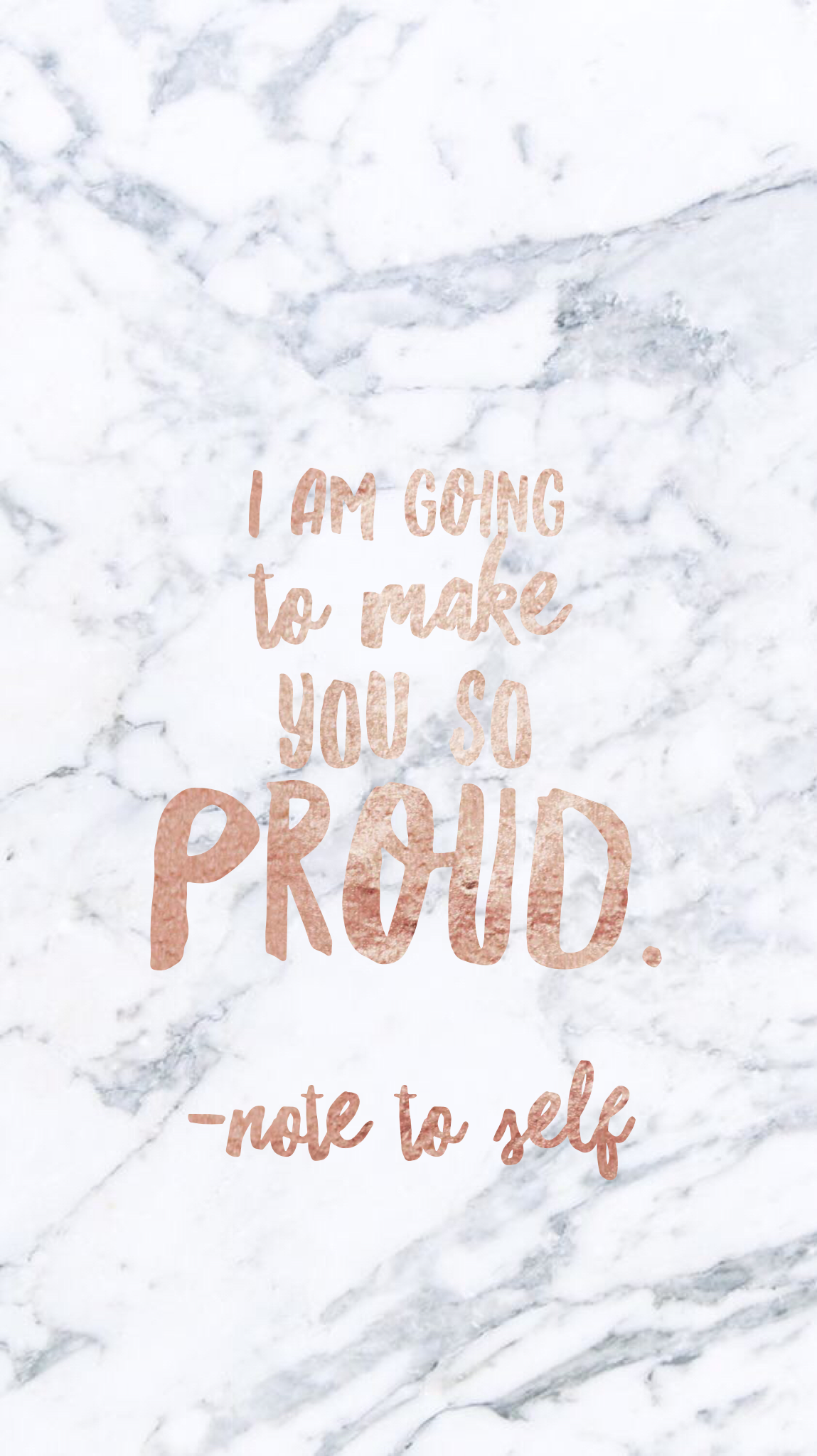 I am going to make you so proud note to self Marble iPhone